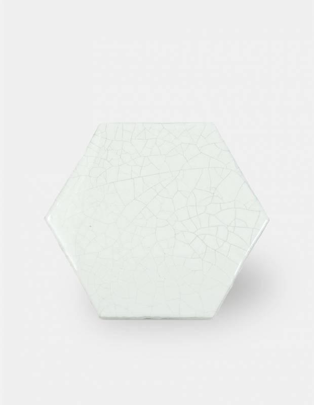 Carrelage hexagonal mural tomette artisanale - CE1406038