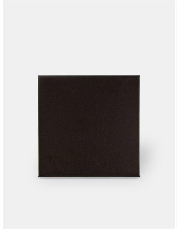 Carrelage mural mat noir 20 x 20 cm - CH0118001
