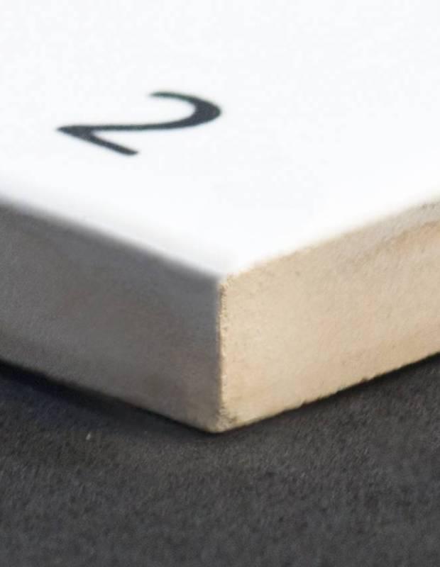 Scrabble-Fliese Buchstabe D 10 × 10 cm - LE0804004