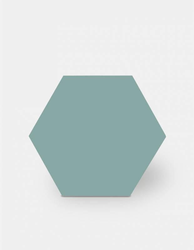 Carrelage hexagonal, la tomette grès cérame good vibes - GO0812010