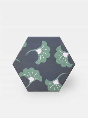 Sechseckige Fliese, die Tomette aus Steinzeug Good Vibes - GO0812003