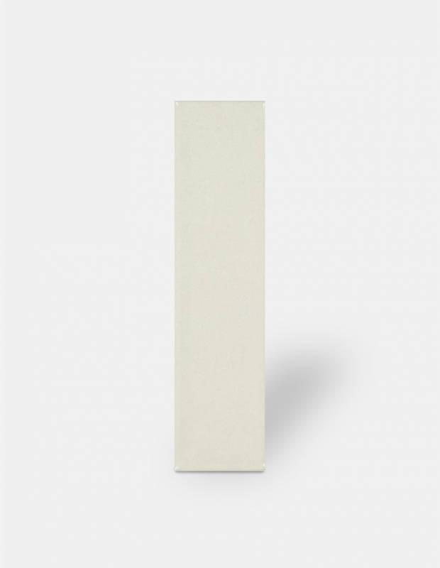 Zellige blanc - rectangulaire 7.5 x 30cm - émail brillant - NA9505002