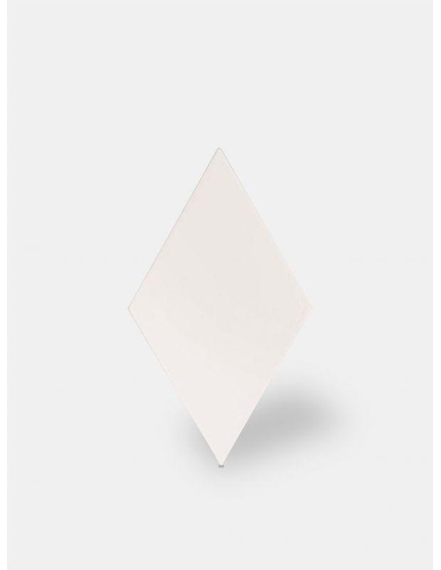 Rautenförmige Fliesen in Weißtönen für den Innen- und Außenbereich - FL5905002