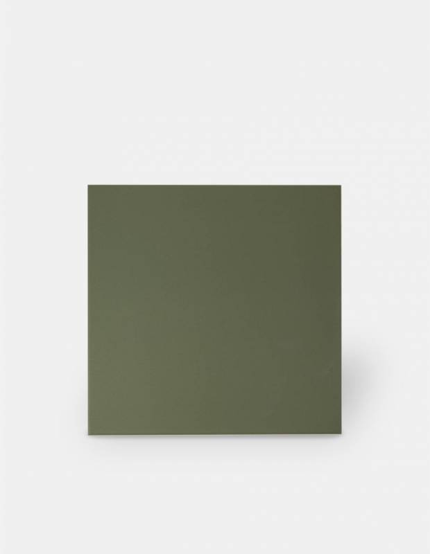 Fliese 20 × 20 kaki Comptoir du Cérame