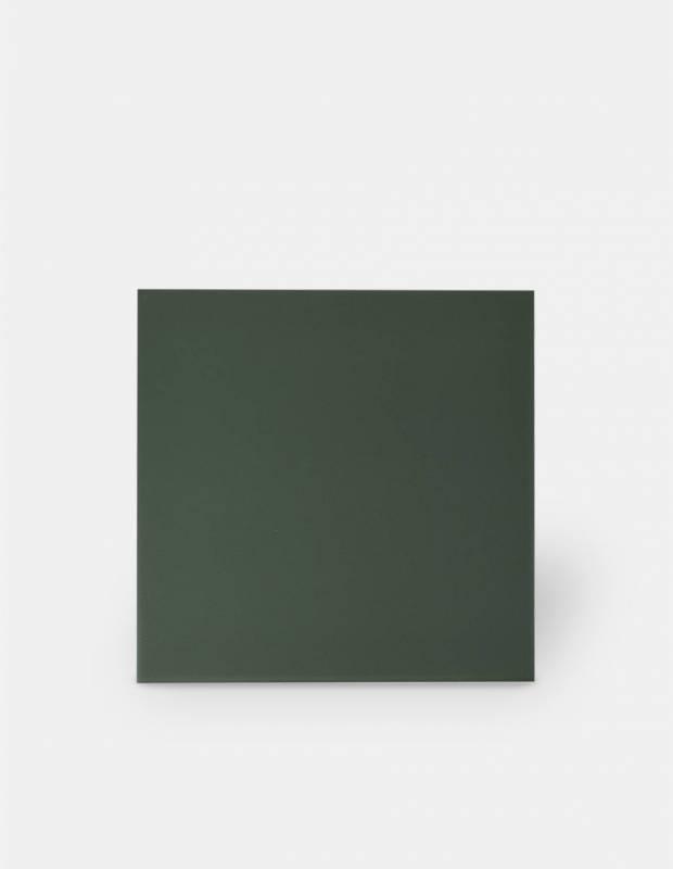 Fliese 20 × 20 grün Comptoir du Cérame