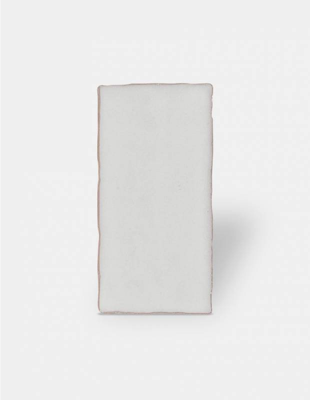 Carrelage rétro mural brillant blanc 7.5 x 15 cm - AN0802006