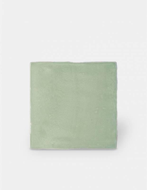 Wandfliese antik glänzend grün 10 × 10 cm - PR0809024