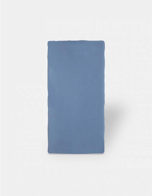 Carrelage rétro mural satiné bleu - AN0802019