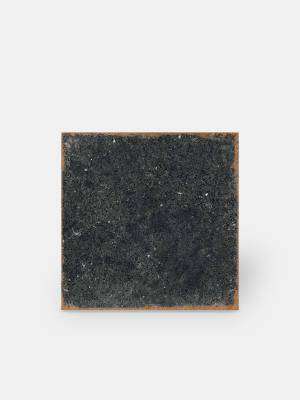 Carrelage 25 x 25 cm noir effet pierre - TR1719003