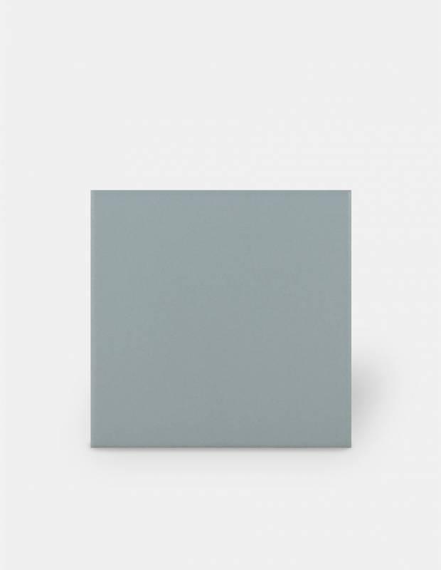 Fliese 15 × 15 cm graublau matt - RA9705005