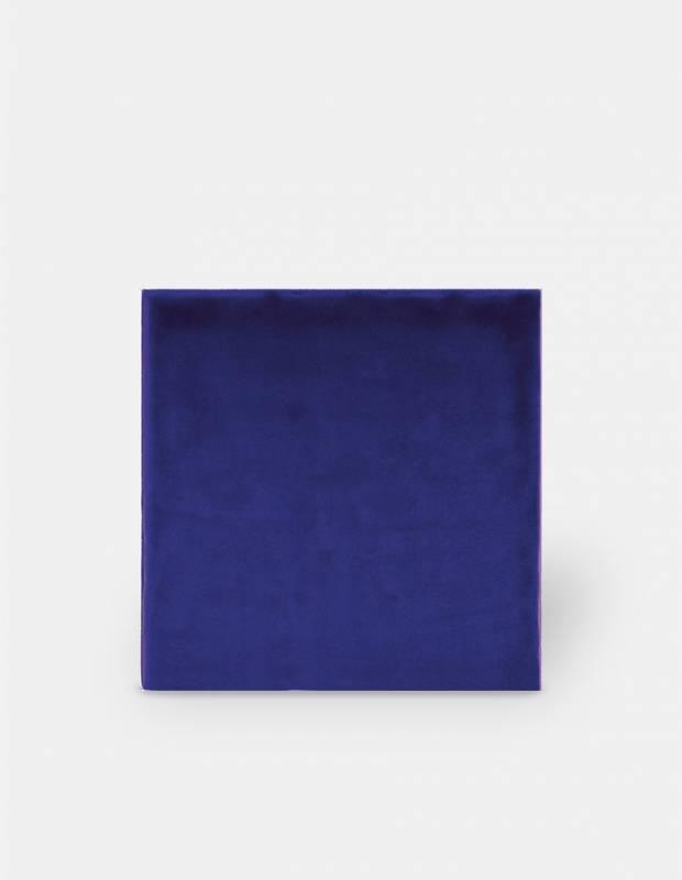 Wandfliese blau handgearbeiteter Stil 15 × 15 cm - TR3504002