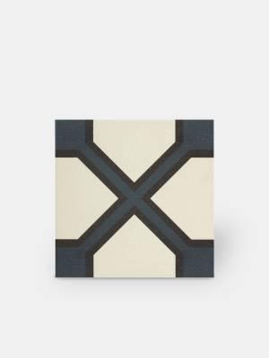 Zementfliesen-Imitat Boden und Wand 20 × 20 cm - NE0108021