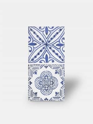 Wandfliese Azulejo blau handgearbeiteter Stil - LI3502001