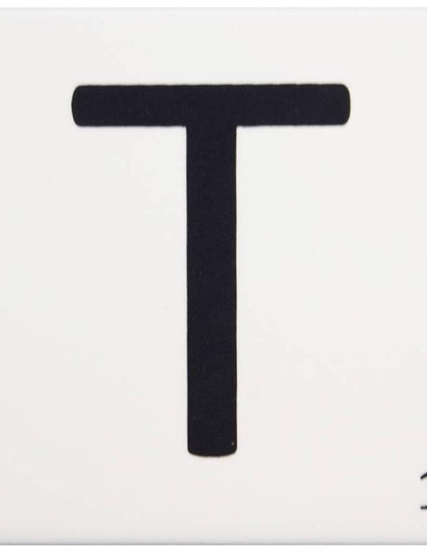 Carrelage scrabble lettre T 10 x 10 cm - LE0804020