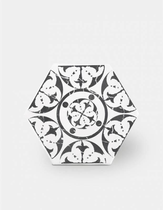 Fliese mit Muster - HE0807002