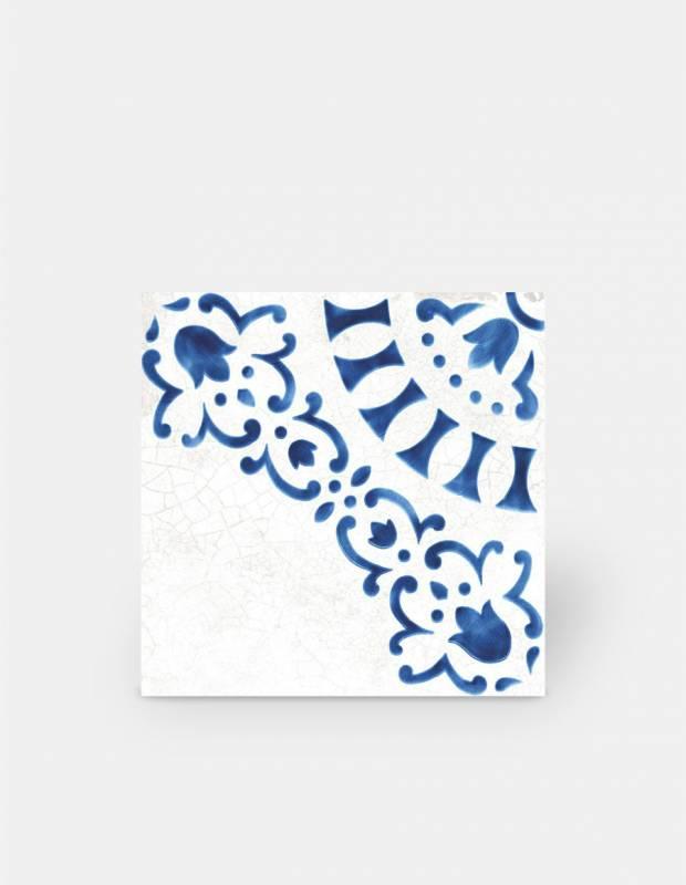 Fliese Azulejo-Stil Dekor im antiken Look 1 - BL5902002