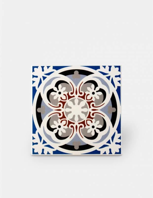 Zementfliesen-Imitat Boden und Wand 20 × 20 cm - VI0104015