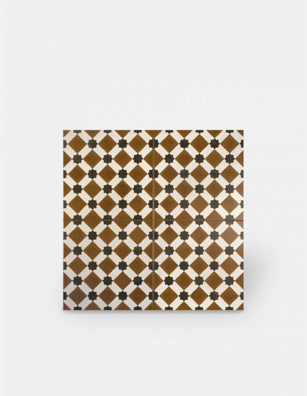 Carrelage imitation carreau ciment sol 45 x 45 cm - HE1105001