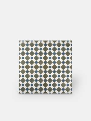 Zementfliesen-Imitat Boden 45 × 45 cm - HE1105002