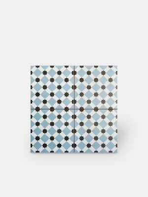 Zementfliesen-Imitat Boden 45 × 45 cm - HE1105007