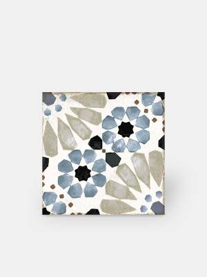 Carrelage sol à motifs mauresques - GR8504002