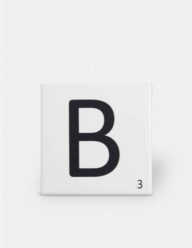 Carrelage scrabble lettre B 10 x 10 cm - LE0804002