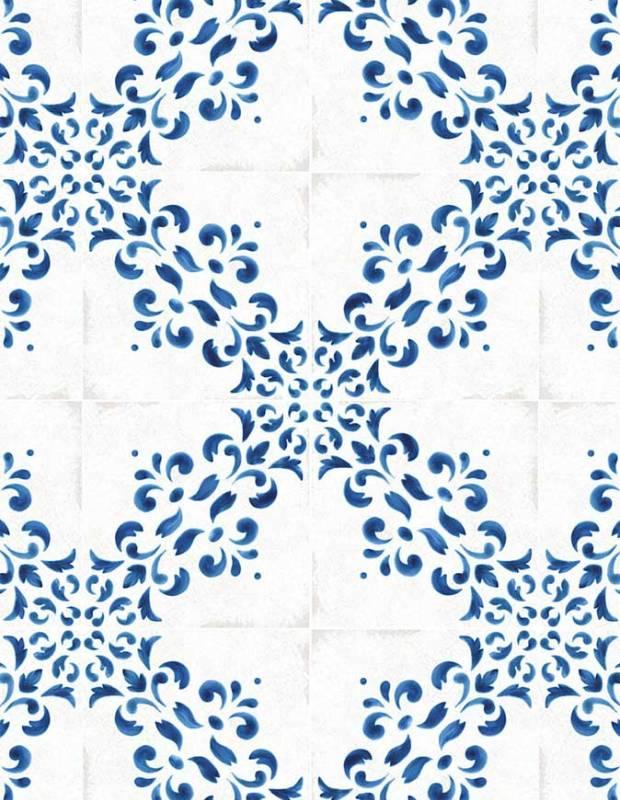Fliese Azulejo-Stil Dekor im antiken Look 2 - BL5902003