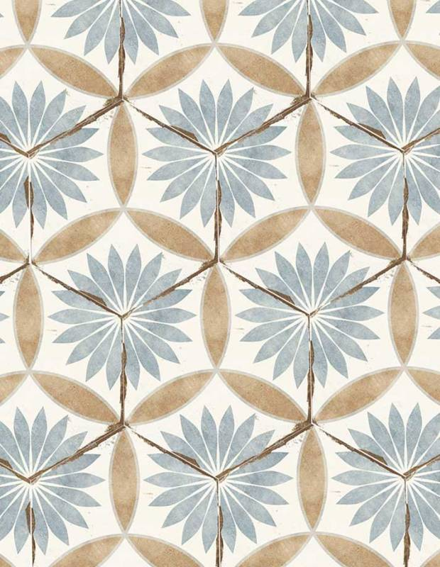 Sechseckige Retro-Fliese Zementfliesen-Imitat - BO8506001