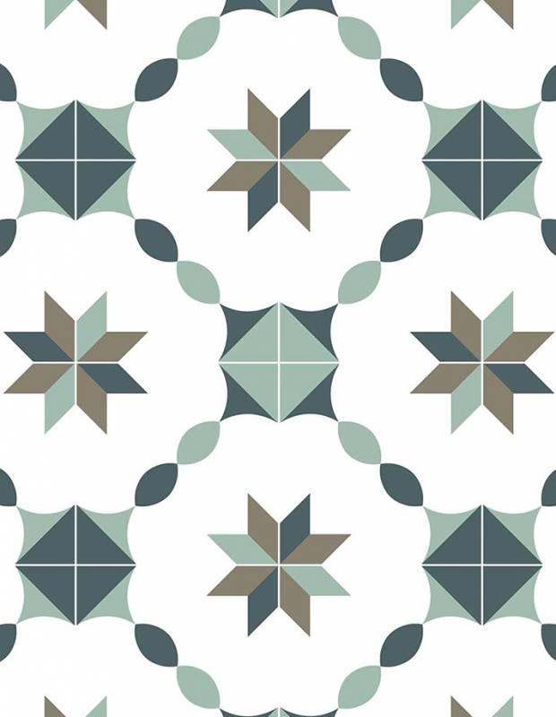 Carrelage grès cérame carreaux ciment Artdeco - ME8502001