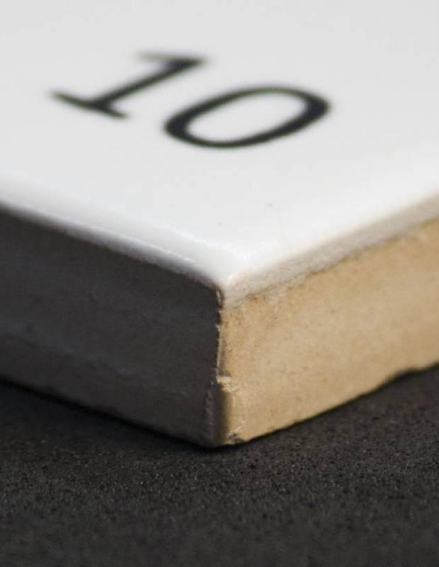 Scrabble-Fliese Buchstabe Z 10 × 10 cm - LE0804026