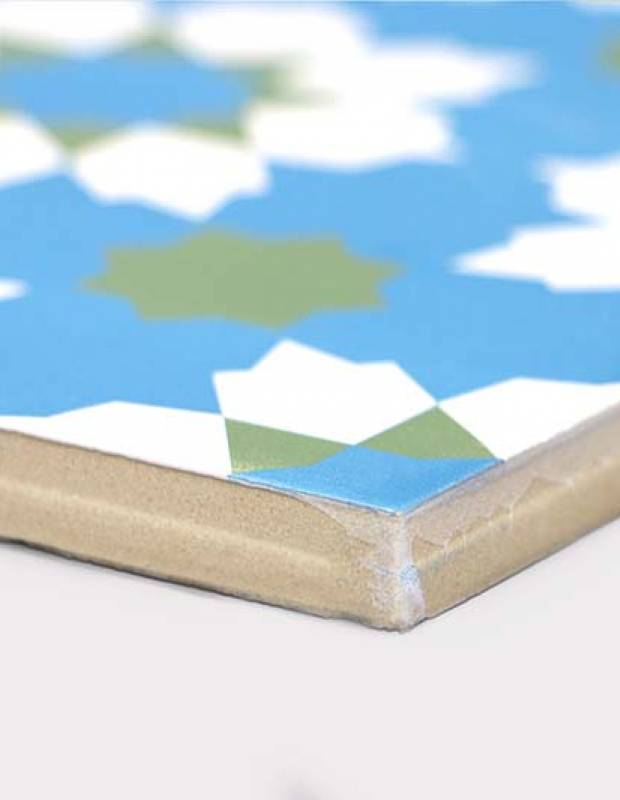 Andalusische Fliesen ice green 20 × 20