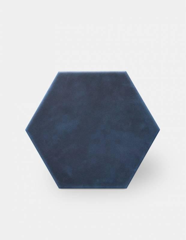 Chardon uni dark blue