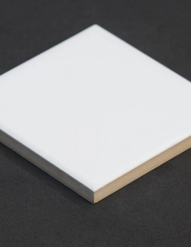 Scrabble-Fliese mattweiß 10 × 10 cm - LE0804027