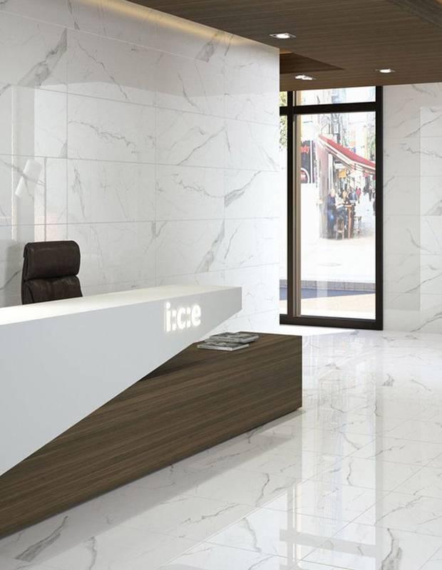 Carrelage effet marbre finition brillante - NO20010045