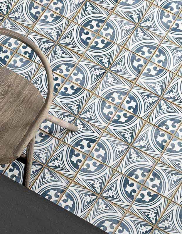 Carrelage style carreaux ciment vintage - NO20010232