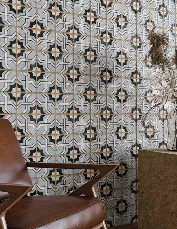 Carrelage style carreaux ciment vintage - NO20010236