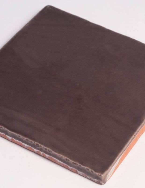 Wandfliese antik glänzend braun 10 × 10 cm - PR0809028