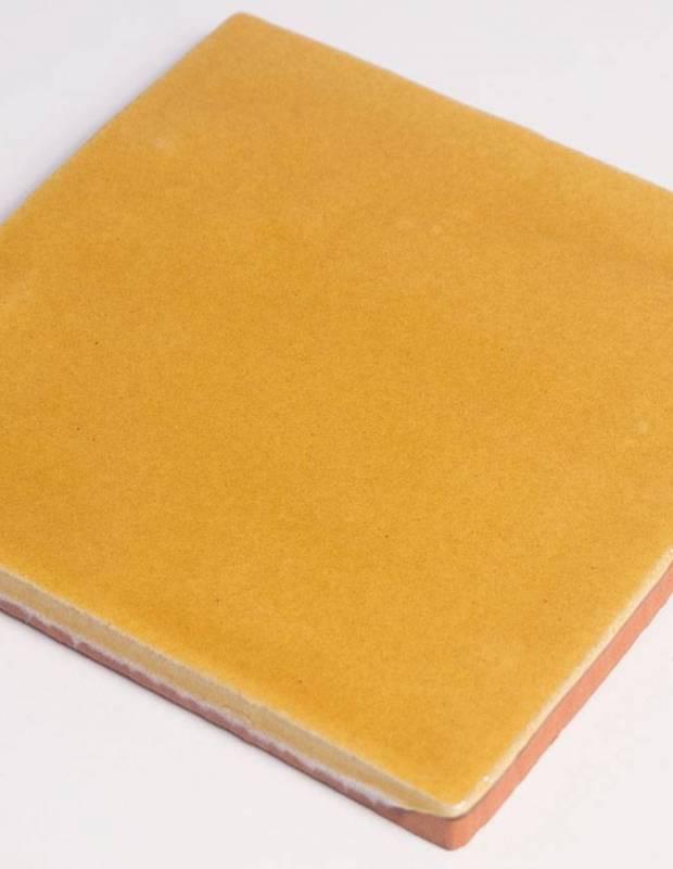 Wandfliese antik glänzend gelb 10 × 10 cm - PR0809031
